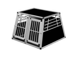 Hundebox-Alu: Doppelboxen aus Aluminium